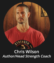 Chris Wilson - Author/Head Strength Coach)